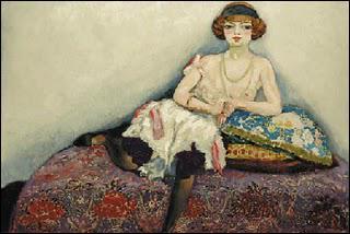 Qui a peint La femme aux bas noirs ?