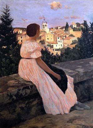 Les robes longues en peinture