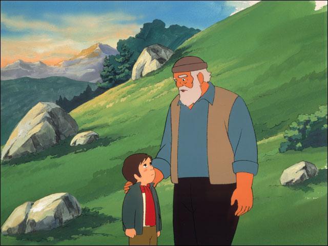 Le petit orphelin de six ans est élevé dans les Pyrénées par un vieux montagnard. Quel est le prénom de ce bienfaiteur ?