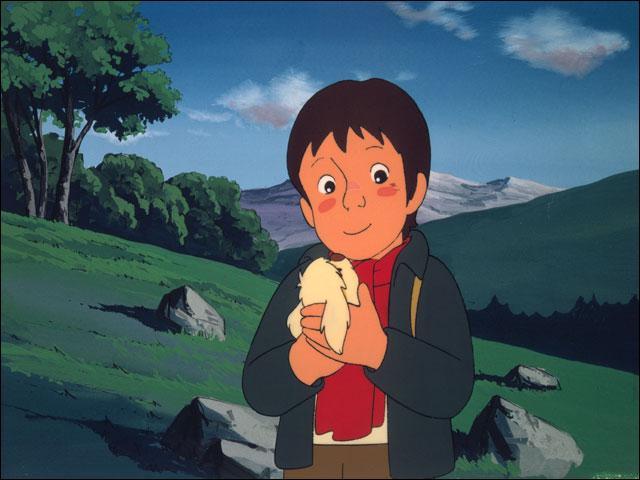 Le duo part à la recherche de la mère du jeune garçon accompagné d'un tout petit chien très gaffeur. Quel est son nom ?