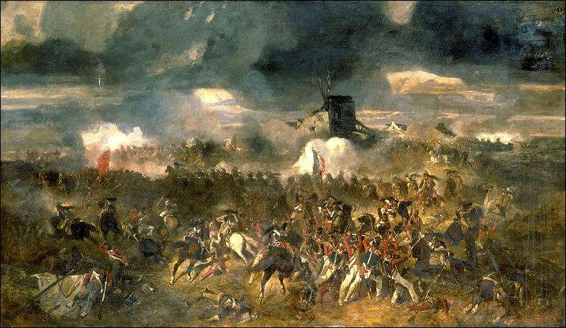 La bataille de Waterloo s'est déroulée le 18 juin 1815. L'armée de Napoléon Ier est défaite. Ce dernier devra abdiquer et sera emmené à St Hélène. Les Français l'ont appelée :