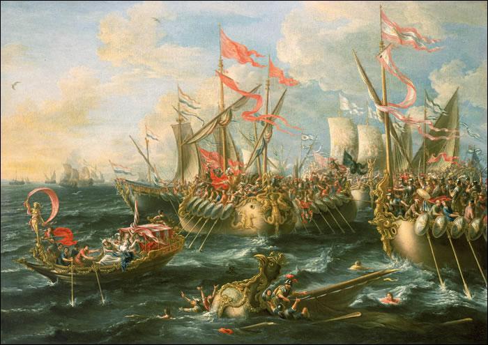 La bataille d'Actium (31 av JC) oppose les armées d'Occident d'Octave, le futur Auguste, aux armées orientales de Marc-Antoine et de Cléopâtre. Comment se nomma le général en chef d'Octave ?