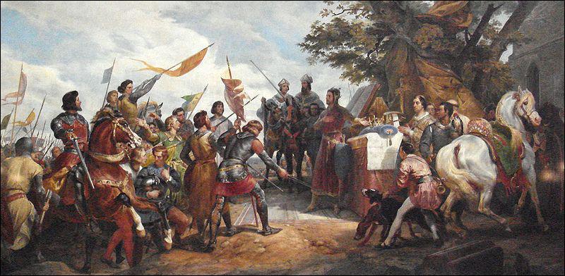 La bataille de Bouvines s'est déroulée le 27 juillet 1214 opposant l'armée du roi de France Philippe II Auguste à une coalition autour de l'empereur Otton IV. Quels pays formèrent cette coalition ?