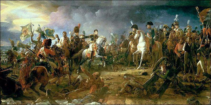 La bataille d'Austerlitz surnommée la 'bataille des Trois Empereurs' se déroule 2 décembre 1805. Quel piège Napoléon Ier met-il en place ?