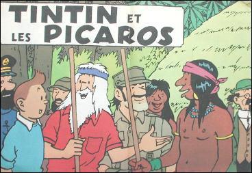 Tintin et les Picaros : De quoi sont soupçonnés Tintin, le Capitaine Haddock, et Tournesol ?
