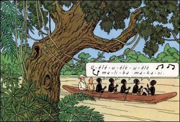 Tintin au Congo : comment s'appelle le petit compagnon noir de Tintin ?