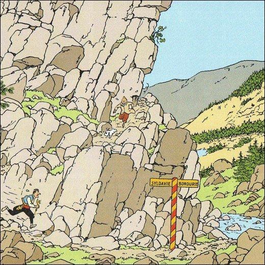 Le Sceptre d'Ottokar : le nom du Palais où est gardé le sceptre est :