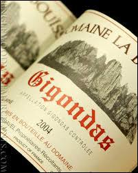 Le Gigondas est un vin AOC de quel vignoble ?