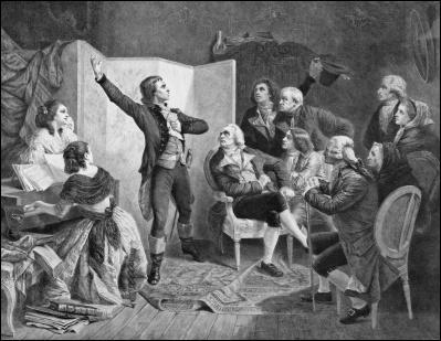 En 1792, Rouget de Lisle compose, dans la nuit du 25 au 26 avril, le 'Chant de guerre pour l'armée du Rhin'. Pour quelle raison écrit-il ce chant ?