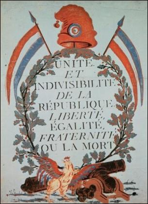 Qui fut le premier à avoir formulé comme devise celle d'aujourd'hui c'est-à-dire 'Liberté, Egalité, Fraternité' qui en plus d'être celle de la France, l'est également d'Haïti ?