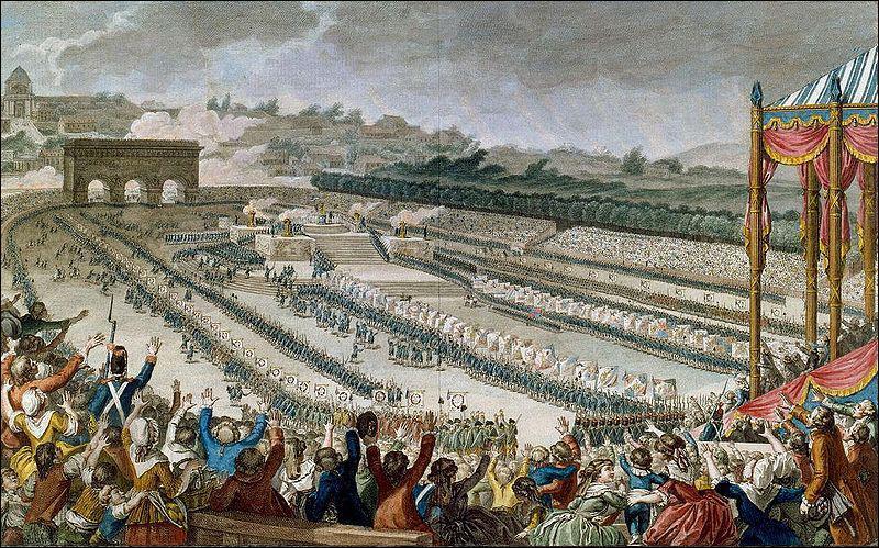 Le 14 Juillet commémore la fête de la Fédération (14 juillet 1790). Cette date est devenue fête nationale en 1880. Qu'a été célébré lors de la fête de la Fédération ?