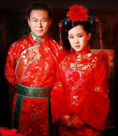 Quelle est la couleur de la robe de mariée chinoise traditionnelle ? (la photo peut être un piège... ou pas ! )