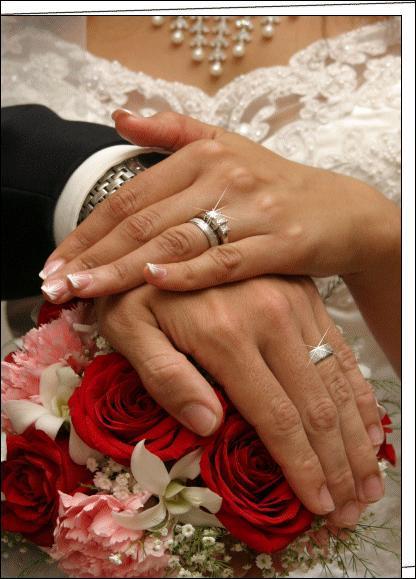 Que peuvent s'échanger les mariés lors de la cérémonie ?