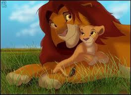 Comment s'appelle le père du lionceau ?