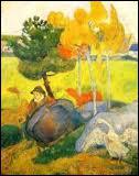 Qui a peint Petit breton à l'oie ?
