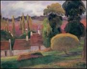 Qui a peint Ferme en Bretagne ?