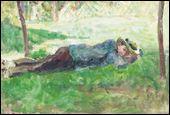 Qui a peint Jeune paysan couché dans l'herbe ?