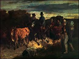 Qui a peint Les paysans de Flagey ?