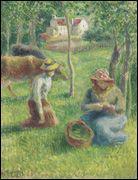 Qui a peint La gardeuse de vaches ?
