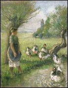Qui a peint La gardeuse d'oie (la mare aux canards) ?