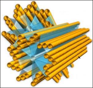 Constitué de 2 centrioles, eux-même composés de neuf groupes de trois microtubules.