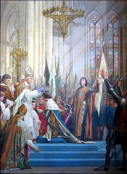 Quelle autre victoire permet au roi de France d'être couronné à Reims ?