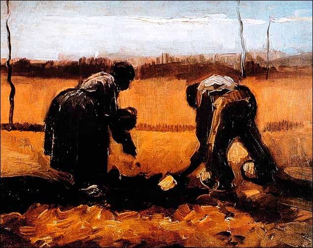 De qui van Gogh dépendait-il totalement et sans lequel il aurait vécu dans la misère ?