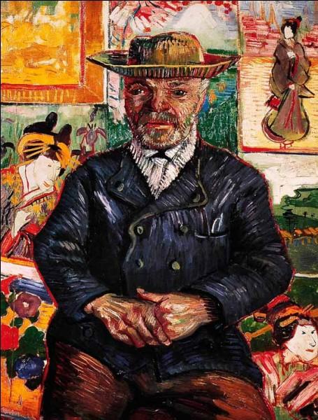 Complétez cette phrase de van Gogh, où il fait allusion aux oeuvres de Monet : 'Je préfère de loin peindre les yeux des gens plutôt que... ... ... . ' :
