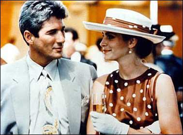 Dans quel film Julia Roberts et Richard Gere on été vus ?