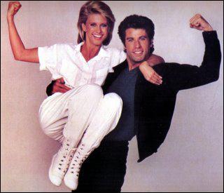 Dans quel film Olivia Newton-John et John Travolta ont été vus ?