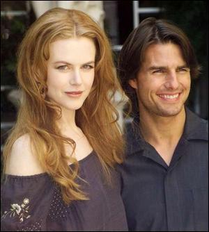Dans quel film Nicole Kidman et Tom Cruise ont été vus ?