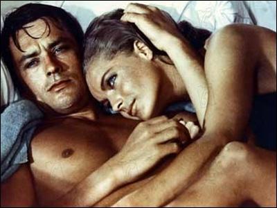 Dans quel film Romy Schneider et Alain Delon ont été vus ?