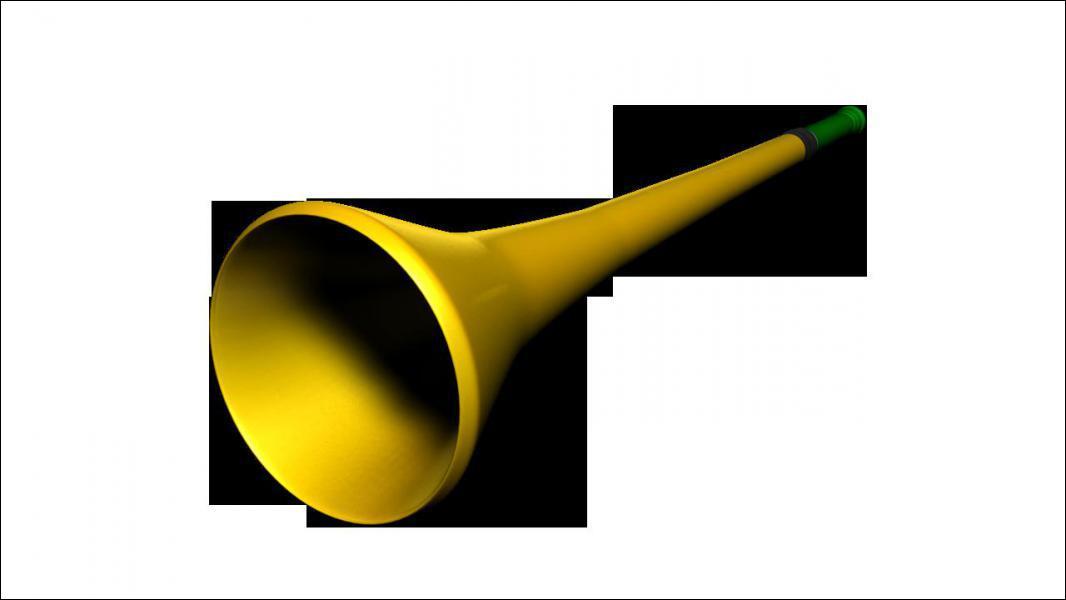 Non ! pas une vuvuzela d'