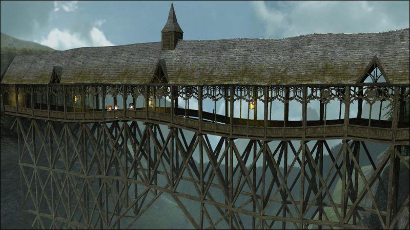 Mais bien sûr, Voldemort arrive à passer ! Qui se retrouve sur le pont en face d'une partie de l'armée ?