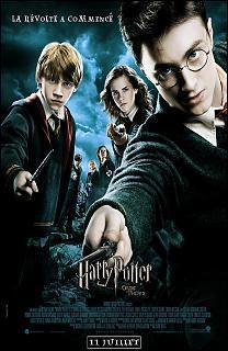 C'est l'affiche d'un film de la saga d'Harry Potter. Quel est le titre du film dont l'affiche est présentée ci-dessous ?