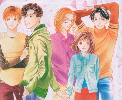 De quel manga sont tirés ces personnages ?