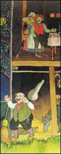 Qui a écrit La petite table, l'âne et le bâton ?
