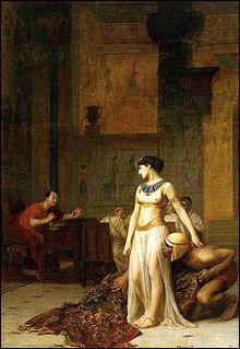 Pourquoi Cléopâtre VII décida -t-elle de faire de l'Egypte un allié de Rome ?