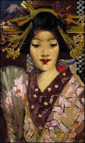 Qui a peint cette japonaise ?
