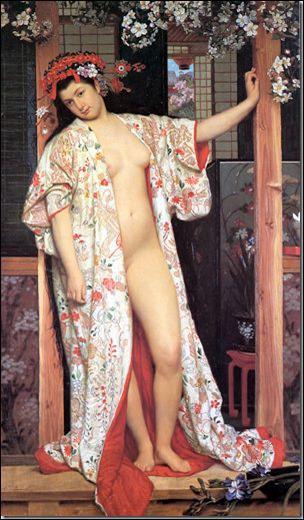 Qui a peint La japonaise au bain ?