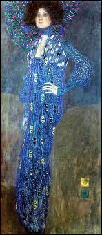 Qui a peint Emilie Floge dans une robe japonaise ?