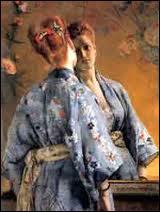 Qui a peint La parisienne japonaise ?