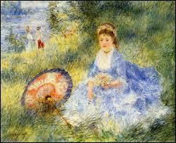 Qui a peint Femme avec un parapluie japonais ?