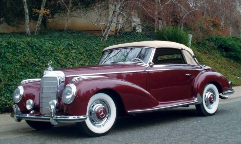 Quizz voitures anciennes quiz auto anciennes - Vieille voiture decapotable ...
