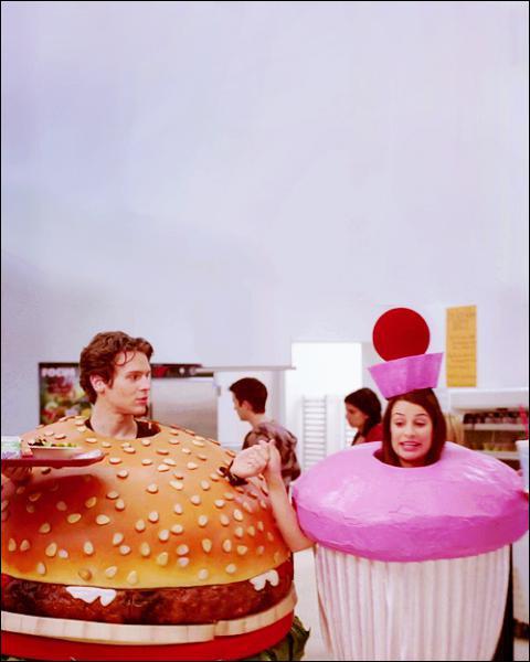 Pourquoi Rachel et Jesse sont sous forme de nourriture ?