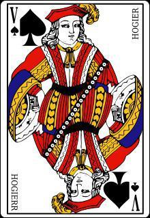 Dans ce jeu de cartes, le valet de pique est la carte qu'il ne faut pas avoir.