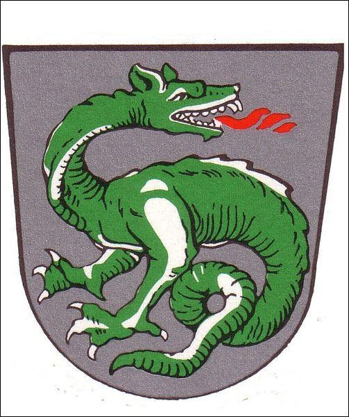 Dragon bipède du folklore britannique ayant une morsure venimeuse :