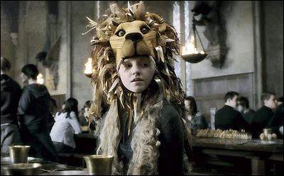 Dans quel film Luna apparait avec sa tête de lion ?