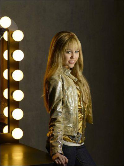A la place de Hannah Montana cela aurait du être...