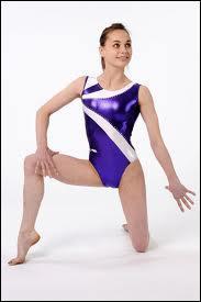 Quelle gymnaste pose dans les magazines Moreau ?